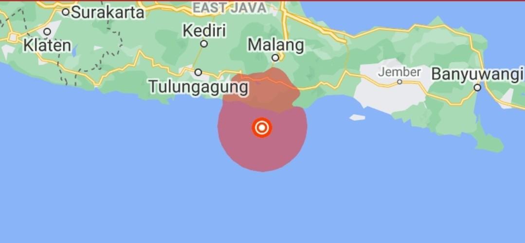 इन्डोनेसियामा ६.१ म्याग्निच्यूडको भूकम्प